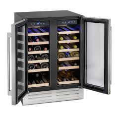 Montpellier WS38SDDX Dual Zone Wine Cooler