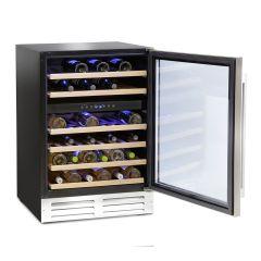 Montpellier WS46SDX Dual Zone 46 Bottle Wine Cooler