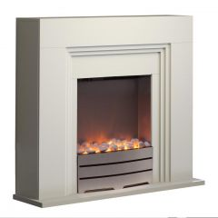 Warmlite York WL 45011 Ivory Fireplace Suite