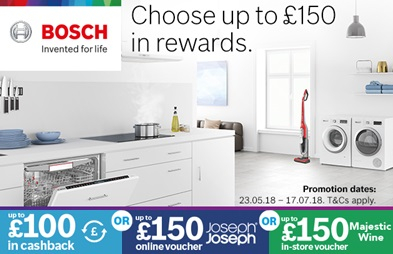 Bosch Choose Reward 2018 Promotion