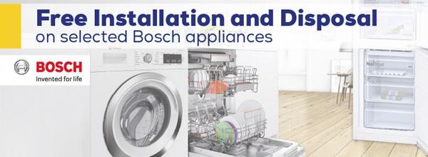 Bosch Free Installation Promotion