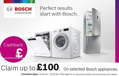 Bosch Spring Cashback 2018 Promotion