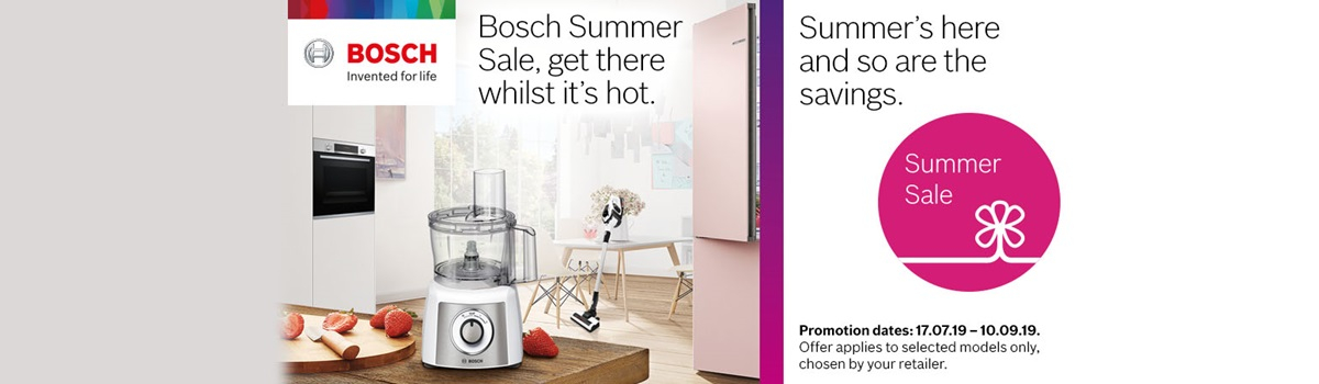 Bosch Summer Sale