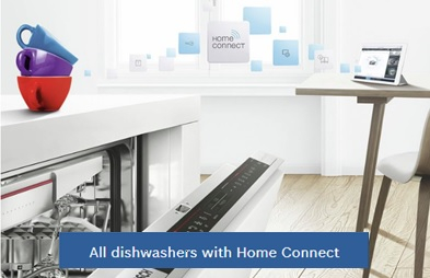 Home connect dishwashers