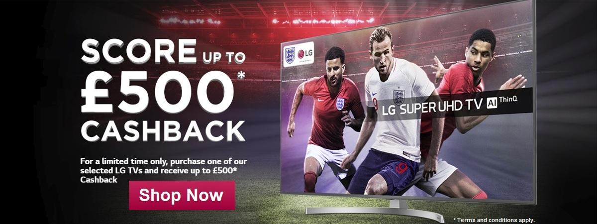 LG World Cup Cash Back 2018