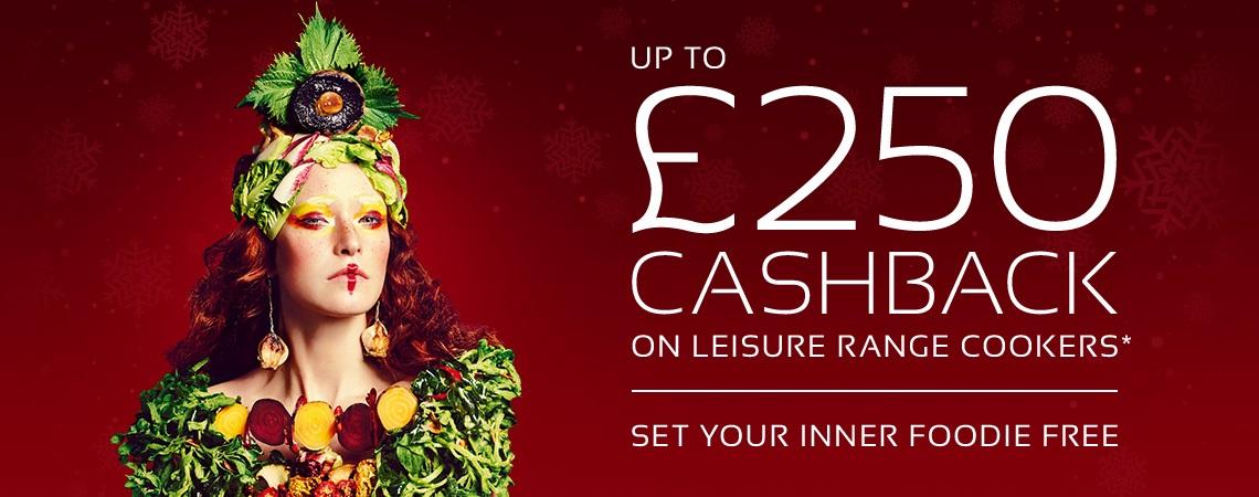 Leisure Range Cooker up to £250 Cashback Promotion