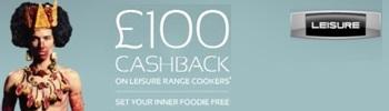 Leisure Cashback upto £200 cashback promotion