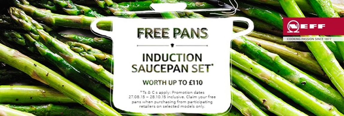 neff free induction pan offer