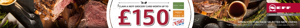 Neff Gift Card up to £150
