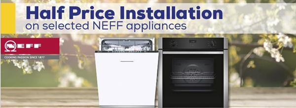 Neff Half Price Installation Promotion
