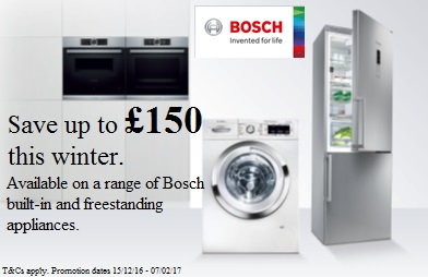 Bosch Winter Sale, Save upto £150