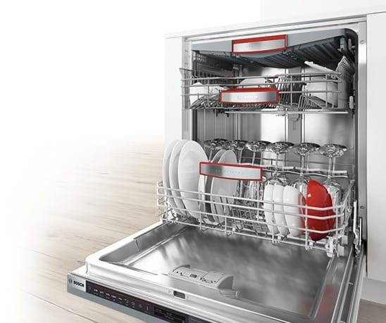 bosch built in dishwasher