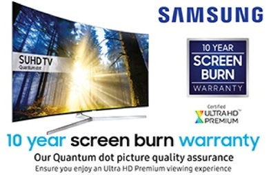 Samsung Screen Burn Promotion