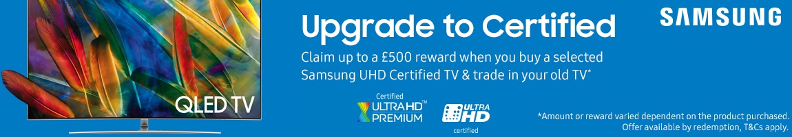 Samsung upto £500 Reward Promotion