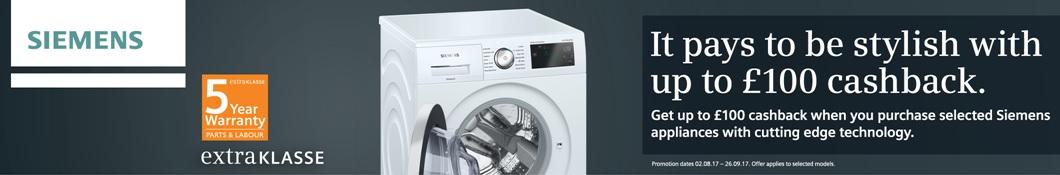 Siemens upto £100 Cashback