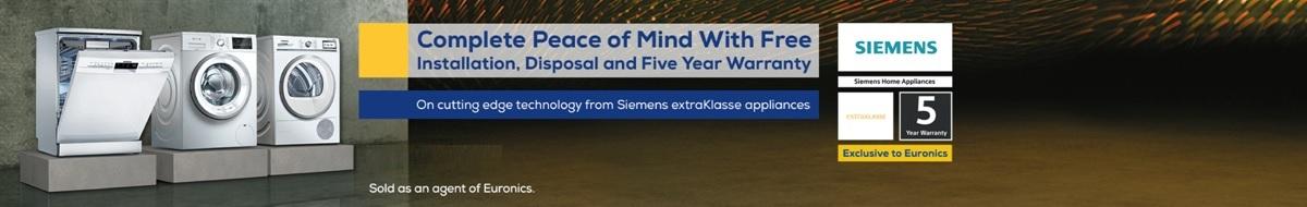Siemens Free Delivery, Installation & Disposal