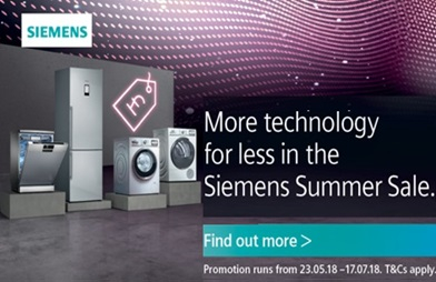 Siemens Summer Sale 2018