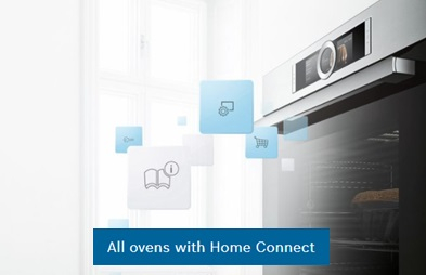 Home connect cooking