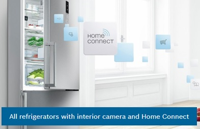 Home connect refrigeration