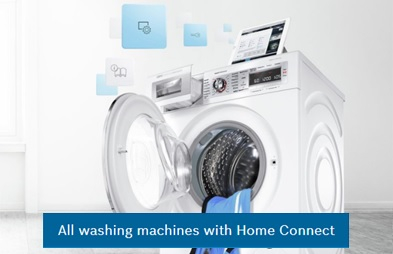Home connect washers