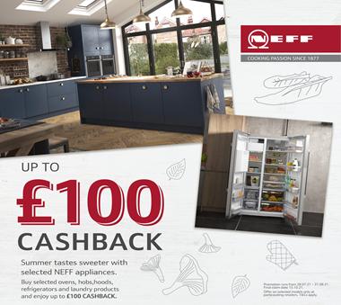 Neff upto £100 Cashback
