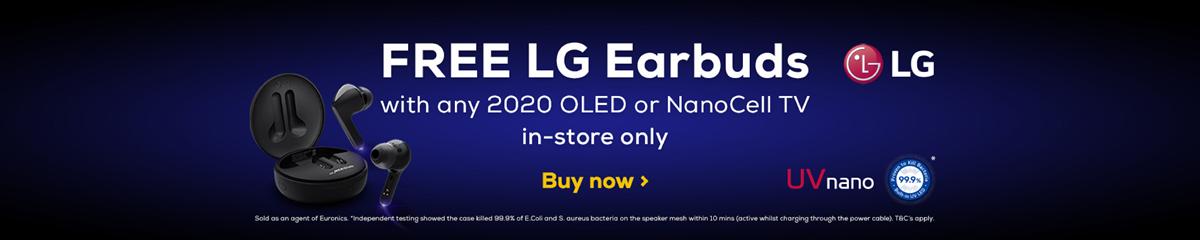 LG Free Earbuds 2020