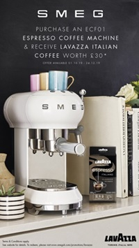 Smeg Espresso Free Coffee